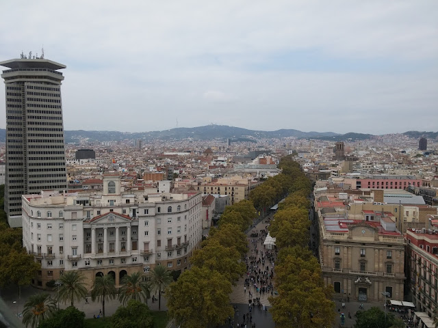 mirrador de colon barcelona view