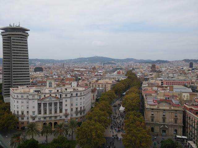 mirrador de colon barcelona view