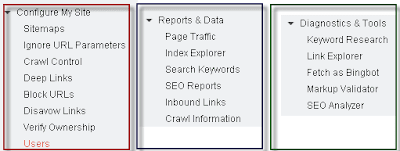 Bing Webmaster Tools Features