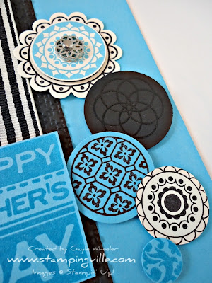 Masculine card - Circle Circus by Stampin' Up!