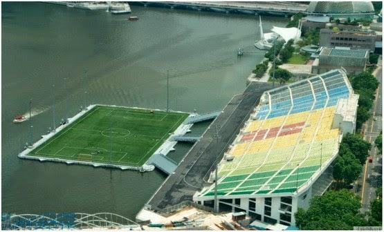 stadium terapung