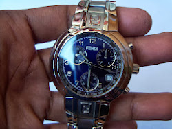 FENDI CHRONOGRAPH BLUE