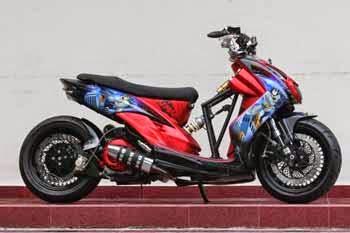 Gambar Modifikasi Yamaha Mio Sporty Desain Terbaru Modif 2014