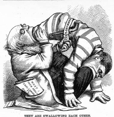 B16 vs Tarcis Bertone, Darwinowska walka o przetrwanie w Watykanie