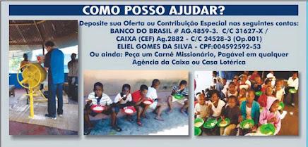 AJUDE ESTA OBRA MISSIONÁRIA