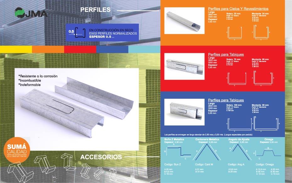 Montadores de pladur perfiles for Medidas perfiles pladur
