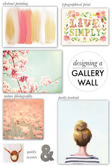 DESIGNING A GALLERY WALL (via Holly Would)