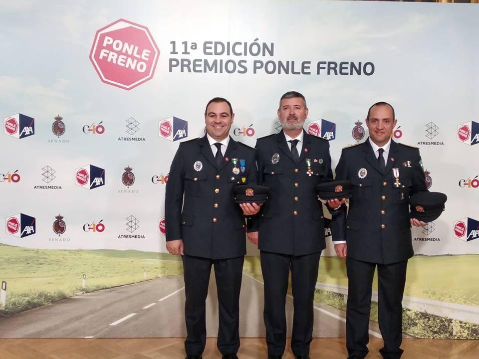 Premio Ponle Freno Junior 2019. Gabinete de Educación Vial de Roquetas de Mar