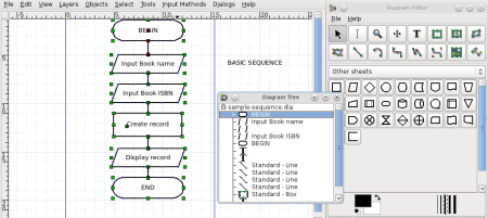 Getting started with dia diagram editor linux unsolicited but dia works in the same way as other vector programs such as coreldraw illustrator and inkscape but is extremely simple to use and removes the learning ccuart Image collections