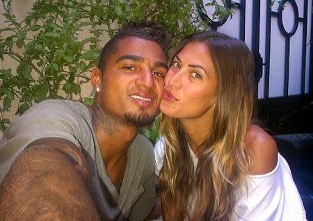 Melissa Satta e Boateng sposi