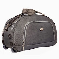 Buy Top Gear Prime Duffle Bag with Trolley at shopclues