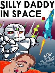 Silly Daddy in Space comic - book ordering page