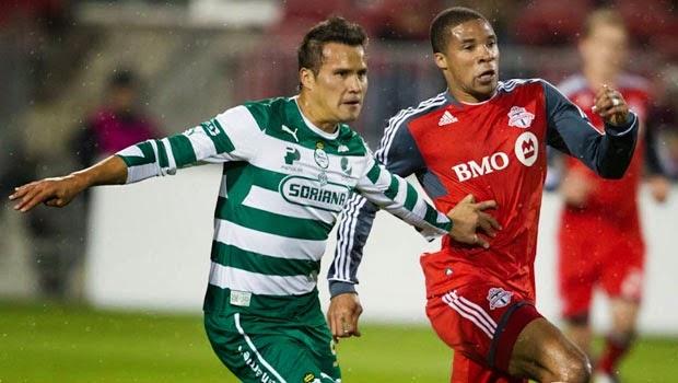 Santos Laguna vs Toronto FC - CONCACAF Champions League