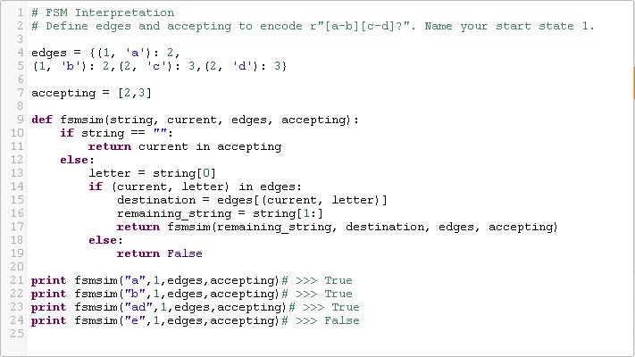 python finite state machine