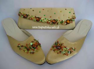Tas Pesta, Clutch Bag, Sepatu Pesta