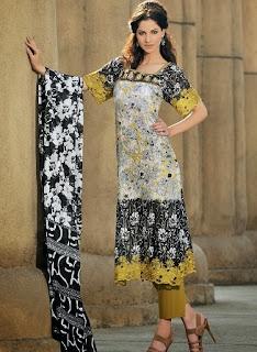 Gul ahmed kameez designs