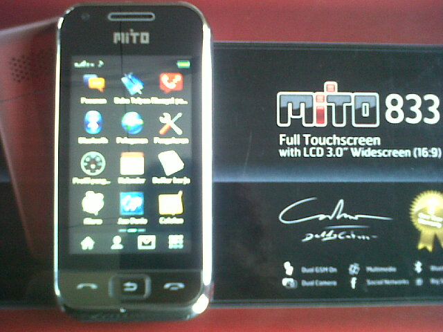 Download Firmware Mito 833 Touchscreen