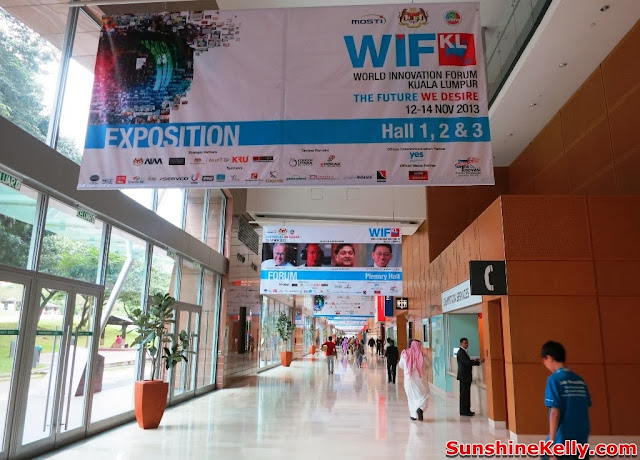 World Innovation Forum Kuala Lumpur 2013, the Future We Desire, world forum, klcc, wifkl 2013, innovation exhibition, hall