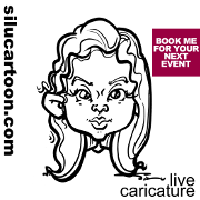 FRESH * QUICK * CUTE caricatures for your event!