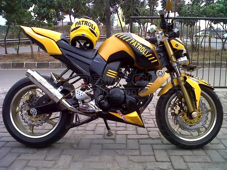 modif motor yamaha byson yellow cool
