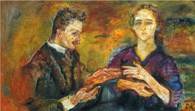 Oskar Kokoschka - Hans Tietze et Erica Tietze-Conrat,1909.