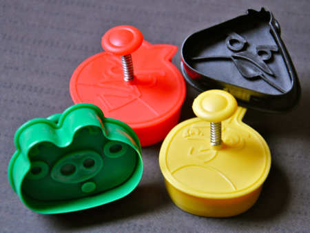 Angry Birds pastry / cookie stamp sandwich cutters