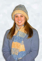 http://kniftyknitterweekly.blogspot.com/2014/04/matching-hat-and-scarf.html
