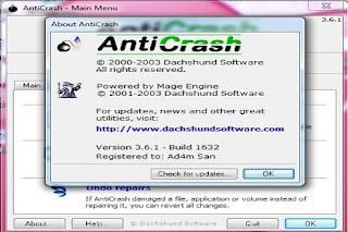 cegah komputer hang dengan anti crash