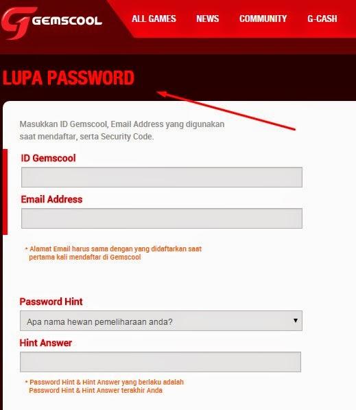Cara Mengembalikan ID Gemscool Point Blank yang di Hack