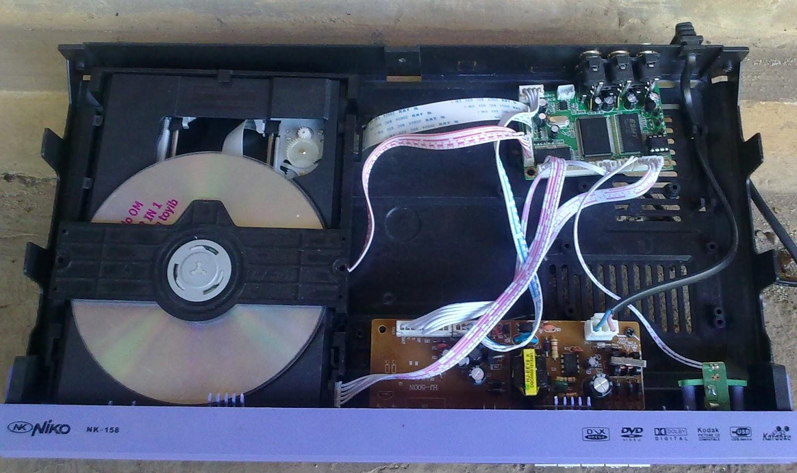MEMPERBAIKI DVD PLAYER MATI STANDBAY