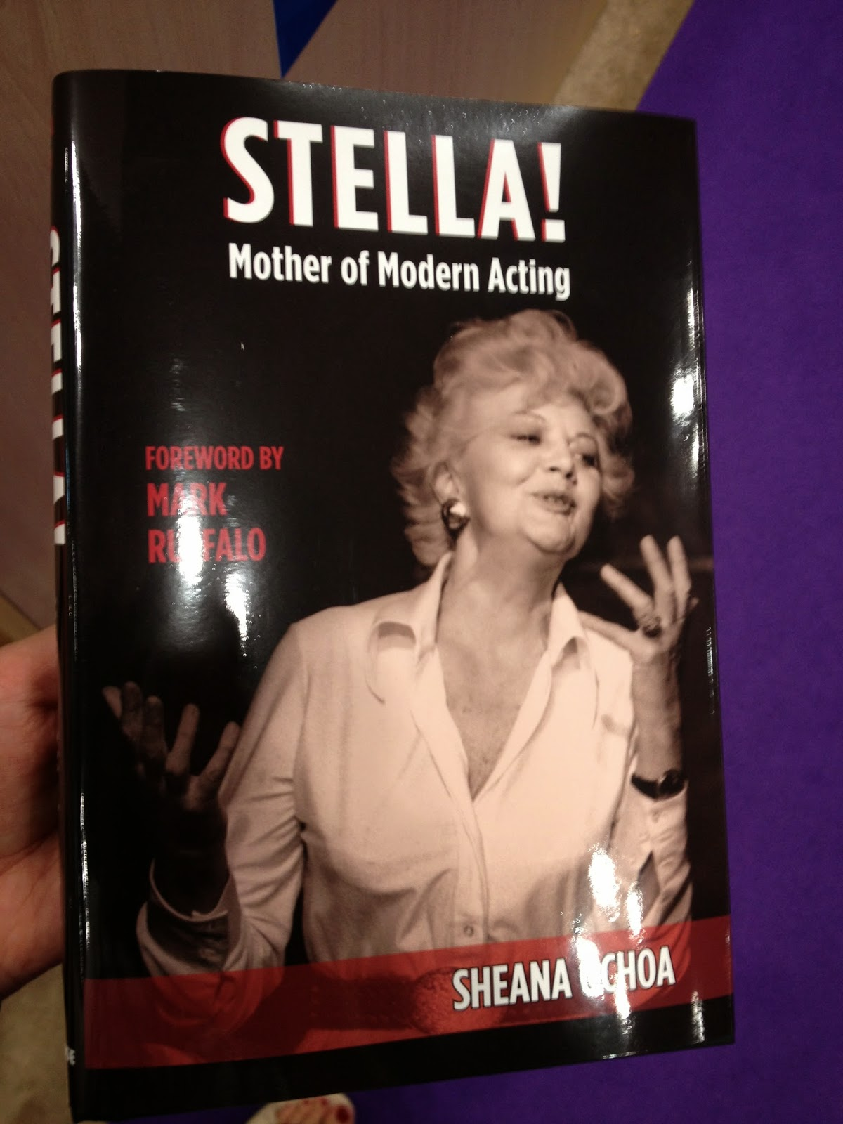 A copy of Stella! Mother of Modern Acting