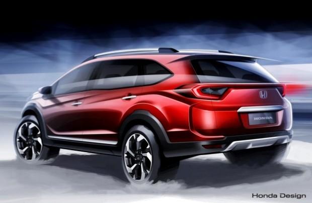 Honda releases BR-V SUV 7