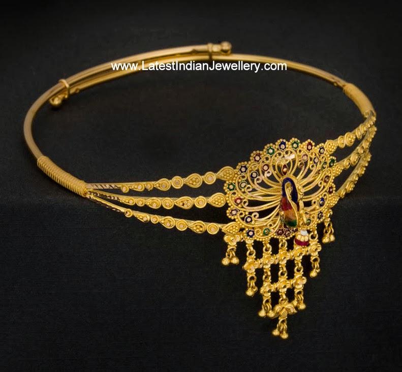 Simple Gold Baju Bandh