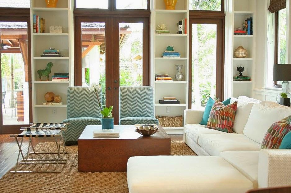 Dekorasi ruang tamu kecil 7