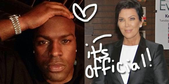 kris jenner dating corey gamble official