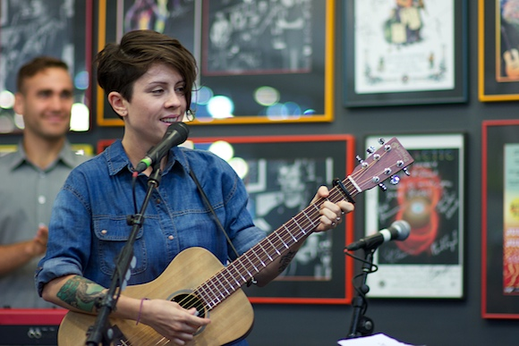 Tegan Quin at Twist & Shout