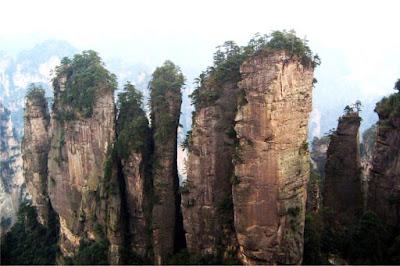 Montanhas de Wulingyuan – China