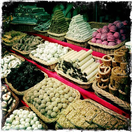 sweets an array of lovely treats in Budapest!!