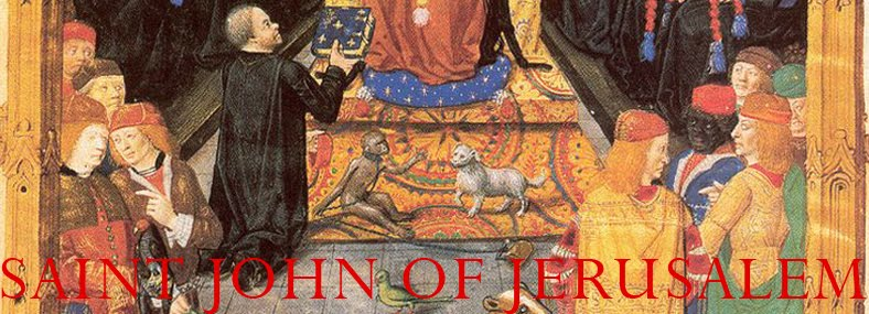 SAINT JOHN OF JERUSALEM - GRAND PRIORY OF ENGLAND SMOM