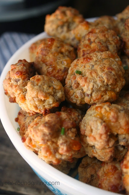 How to Make a Better Tasting Sausage Ball