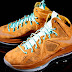 Nike LeBron X EXT Suede QS Hazelnut/Hazelnut-Tide Pool Blue June 2013