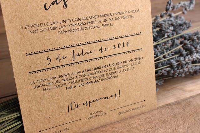 invitaciones de boda originales craft hermanas bolena shop
