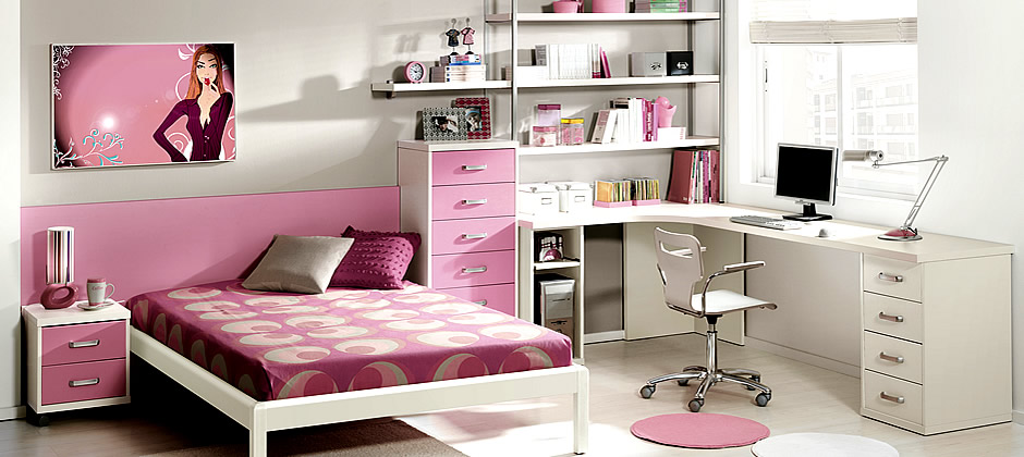 rooms on Pinterest Quartos, Desks and Bedrooms ~ Quarto Planejado Juvenil Feminino