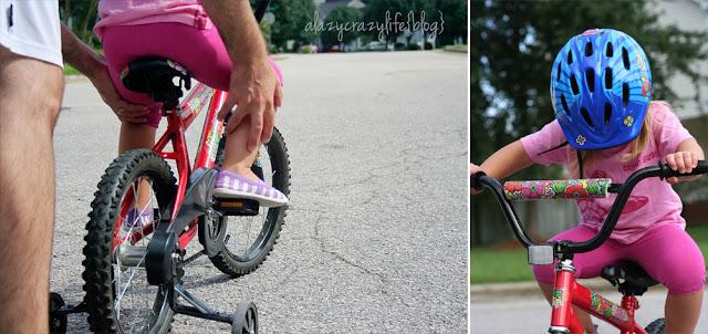 A Lazy Crazy Life: Bike makeover
