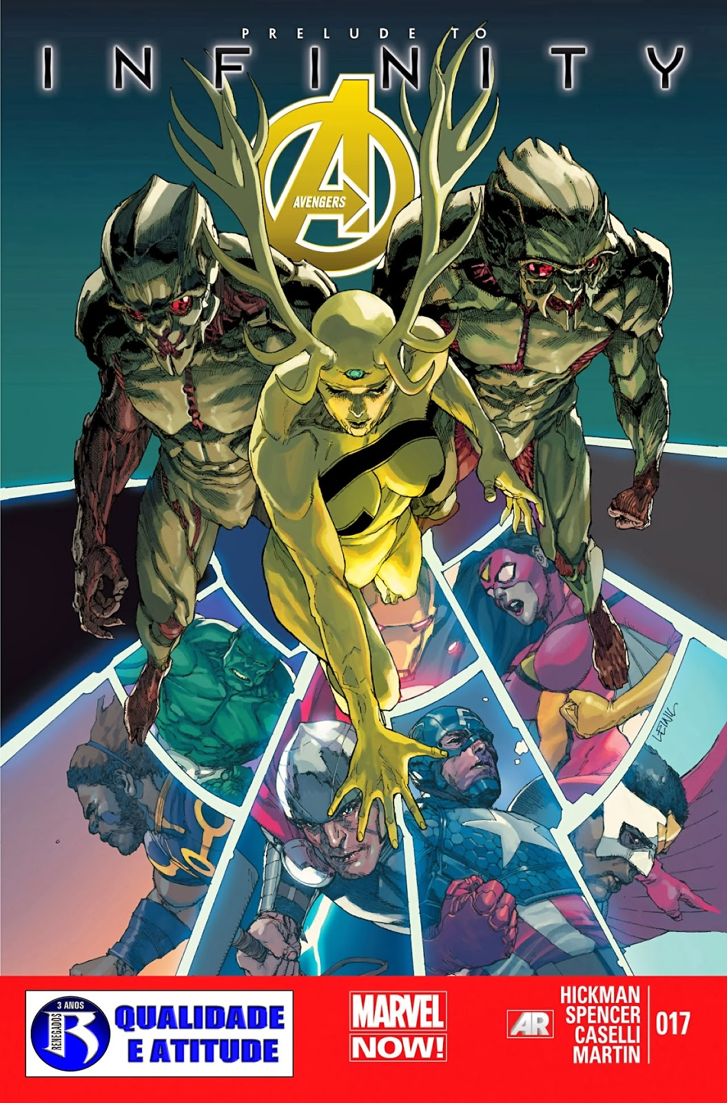 Nova Marvel! Vingadores v5 #17