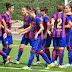 El Fundación Cajasol Sporting visita al líder FC Barcelona