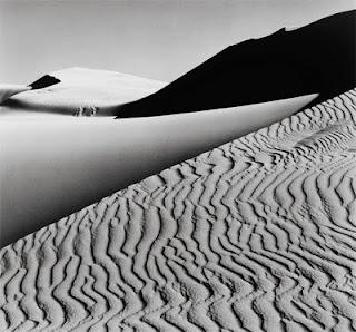 Dunes Oceano, Ansel Adams, 1963