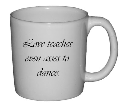 Love Teaches Even Asses Dance