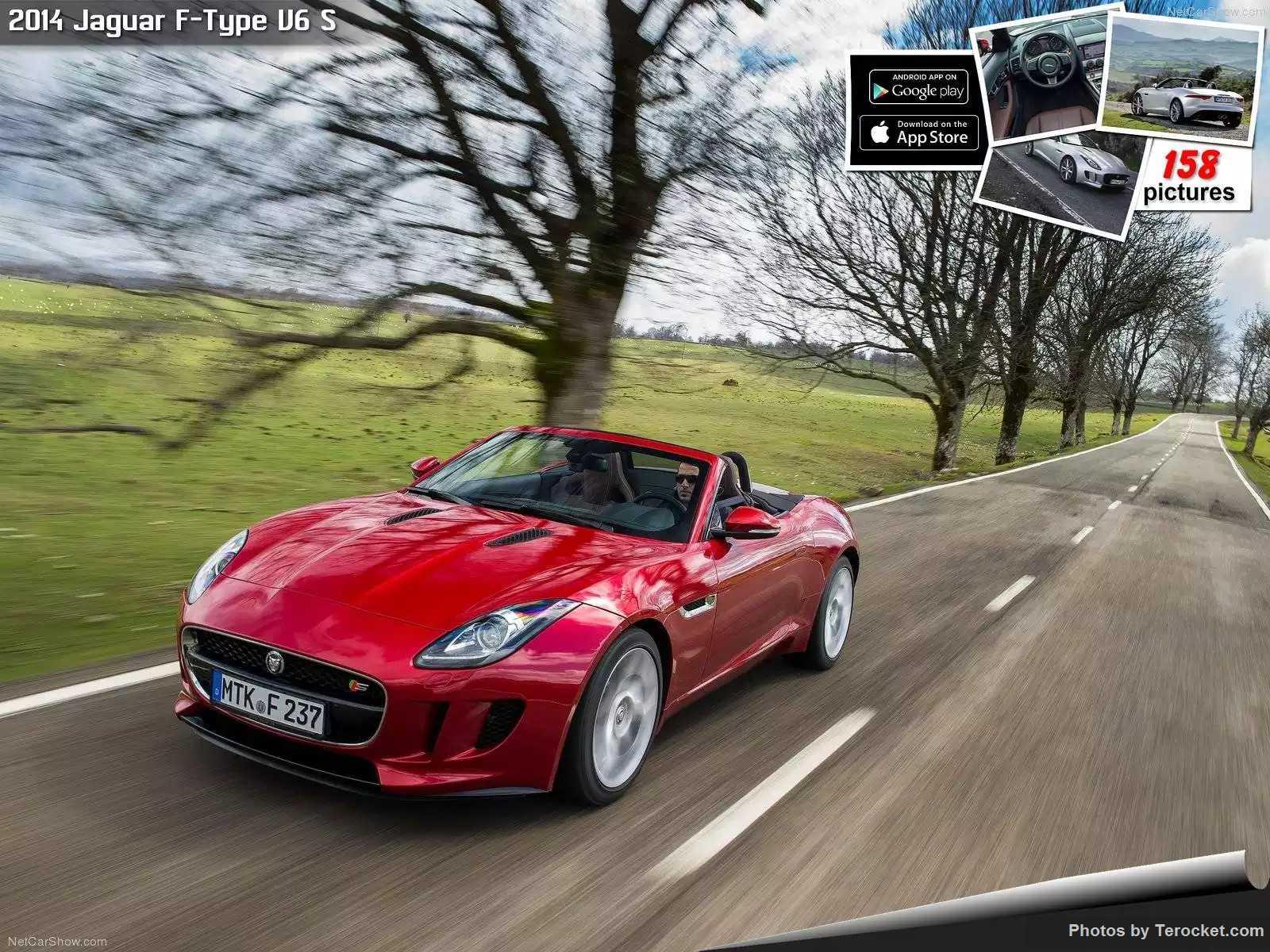 Hình ảnh xe ô tô Jaguar F-Type V6 S 2014 & nội ngoại thất
