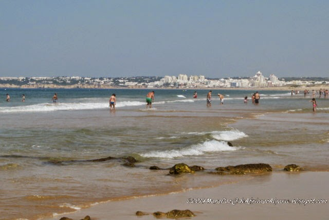 Walking to Salgados beach, Algarve